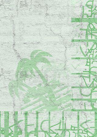 original single: Green palm