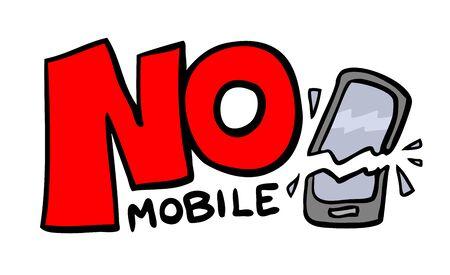 no mobile message