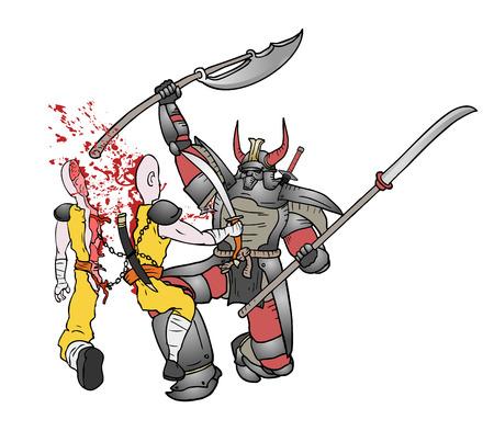 assassin: gore samurai fight