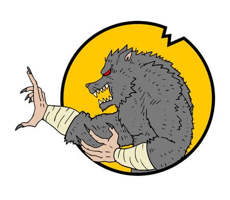 mutant: mutant wolf
