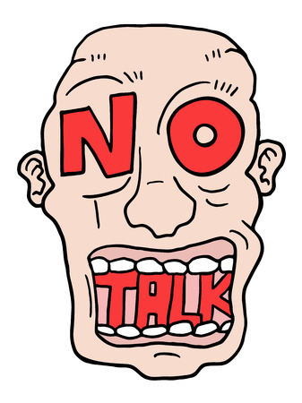 advise: no talk advise