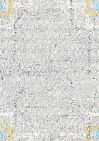 original single: Corner frame