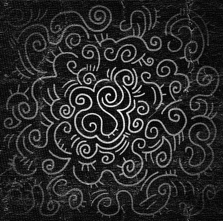 original single: dark background