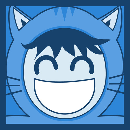 smile face: smile face Illustration