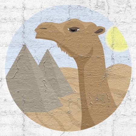 Icon camel photo