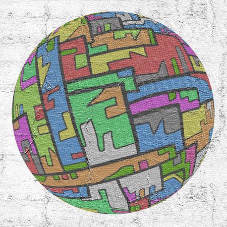 original single: Color pieces