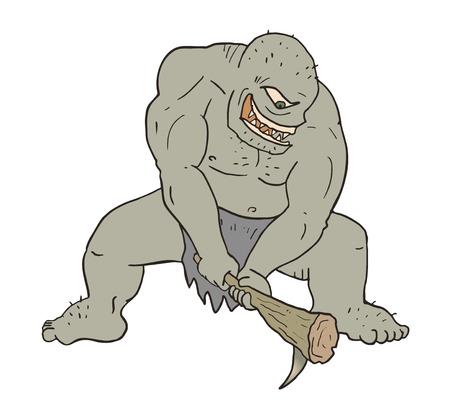 ogre: ogre attack