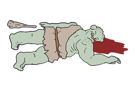 killed: ogre killed