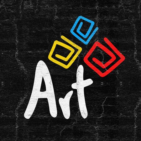 visionary: Art symbol Stock Photo