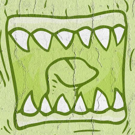 sympathetic: Mouth monster