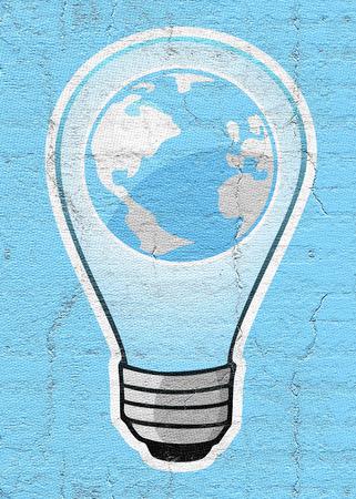 phosphorescence: Bulb and world