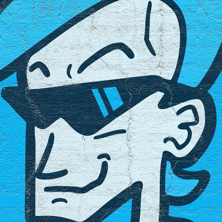 brash: Blue fashion man