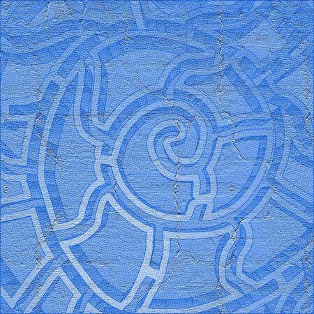 original single: Blue texture Stock Photo