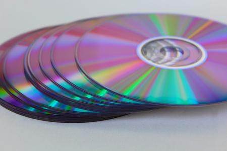 dvds: many cds