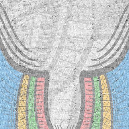 original single: Color frame