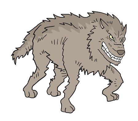 반란군 늑대 무승부 일러스트