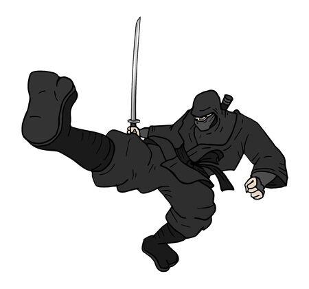 ninja weapons: kick ninja