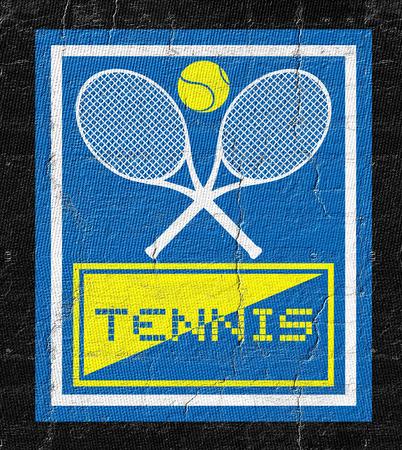 advisory: Tennis sign
