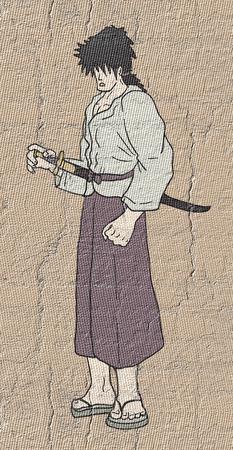 carefully: Vintage samurai