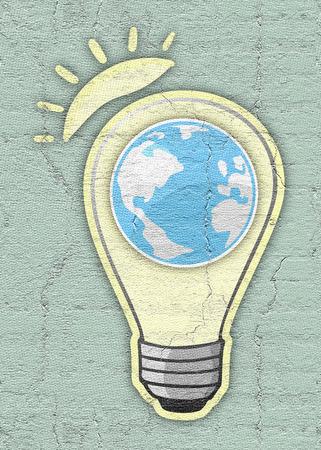 phosphorescence: Bulb sun and world