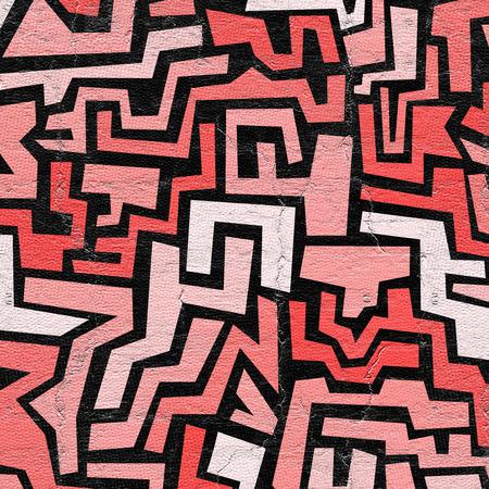 mosaic: Red mosaic
