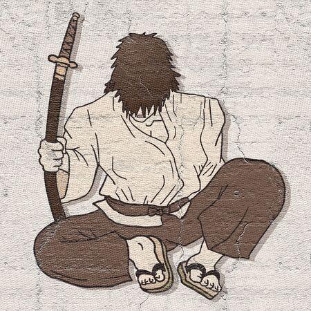 bullfighter: Vintage samurai