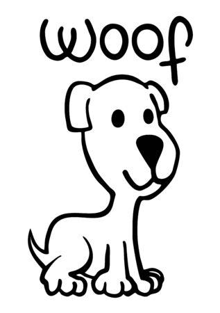 snoop: small funny pet illustration