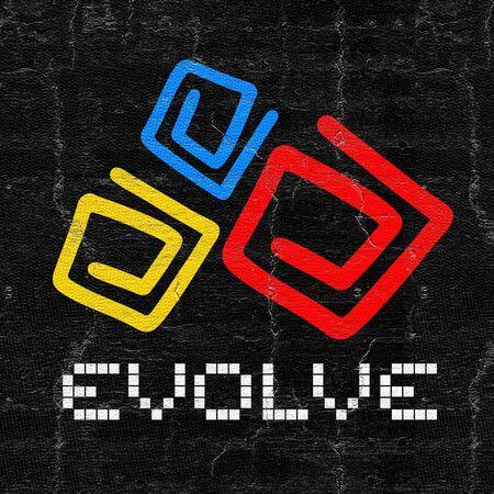 evoluer: Evolve couleur