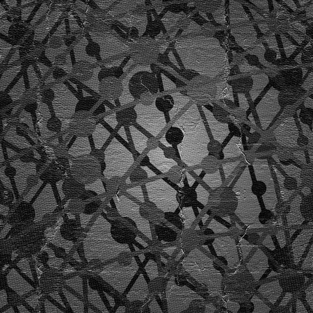 atomic: Dark atomic cover Stock Photo