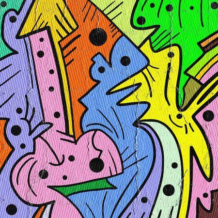 original single: Color form cover