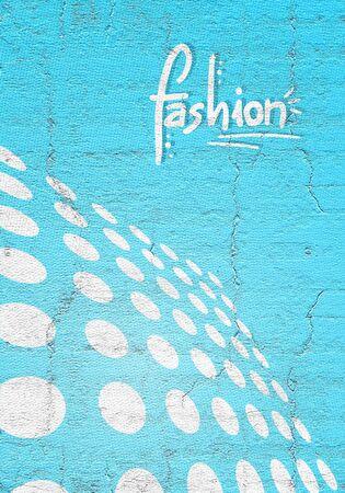 original single: Blue fashion cover