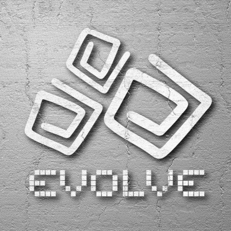 design visionary: Cover evolve Stock Photo