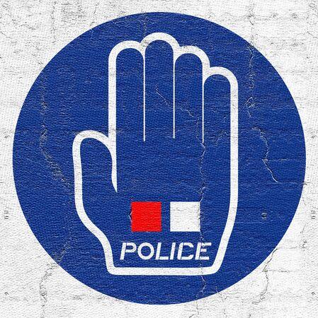 abolished: Hand police