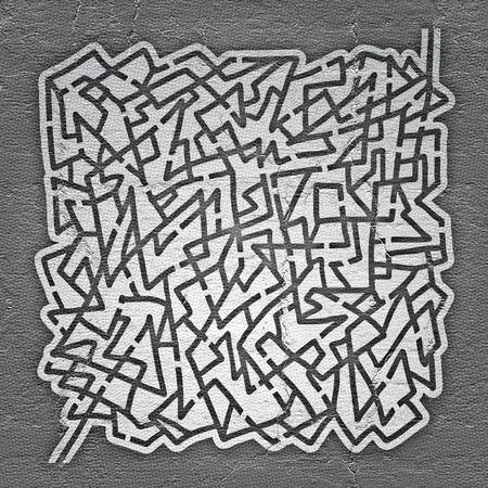 bustle: Grey maze