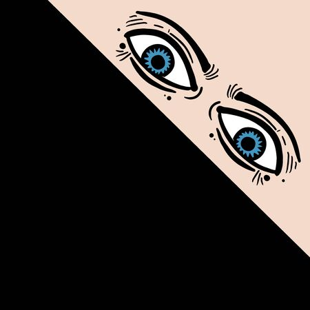 mystery: mystery eyes Illustration