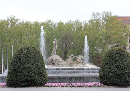 neptuno: estatua de Neptuno Foto de archivo
