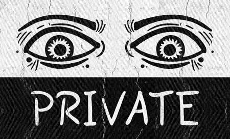 gash: Private eyes Stock Photo