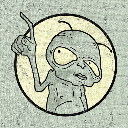 extra terrestrial: Creative alien