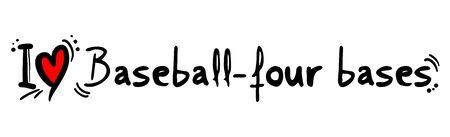 bases: baseball four bases