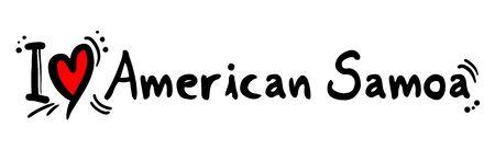samoa: american samoa love