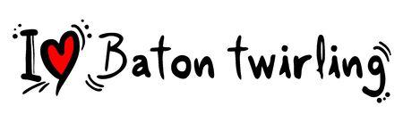 twirling: baton twirling love