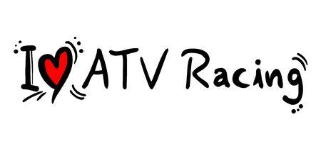 atv: ATV Racing love