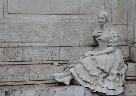 gitana: estatua de gitana