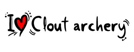 clout: Clout archery love