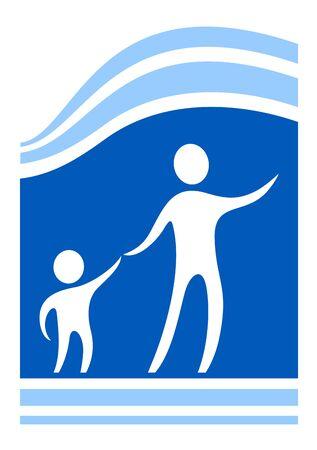 lactancia materna: proteger s�mbolo ni�o