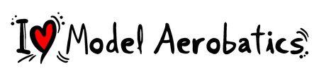 aerobatics: Model Aerobatics love