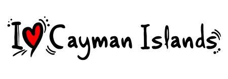 overseas: Cayman Islands love