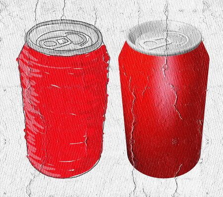 cola canette: Cola bo�tes
