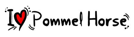 pommel: Pommel horse love passion