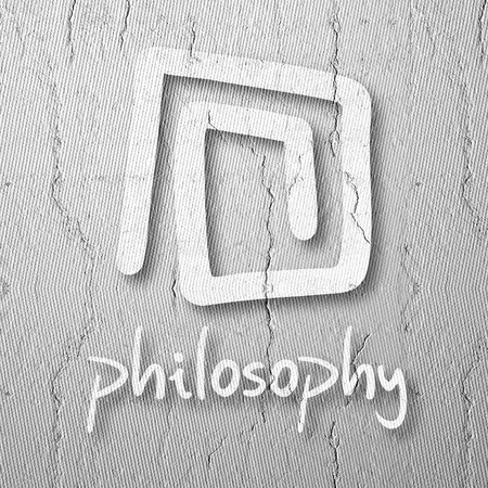ontology: Symbol philosophy Stock Photo